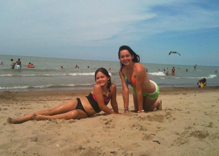 Beauties on the beach, 2011