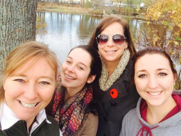 Would love to walk through the Halifax Public Gardens. But first, let's take a selfie!