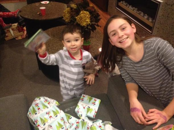 "Little Cousins' Gift Exchange - aka ""FamJam"""